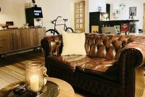 Hotel Gammel Havn i Fredericia - Lobby og foyer område