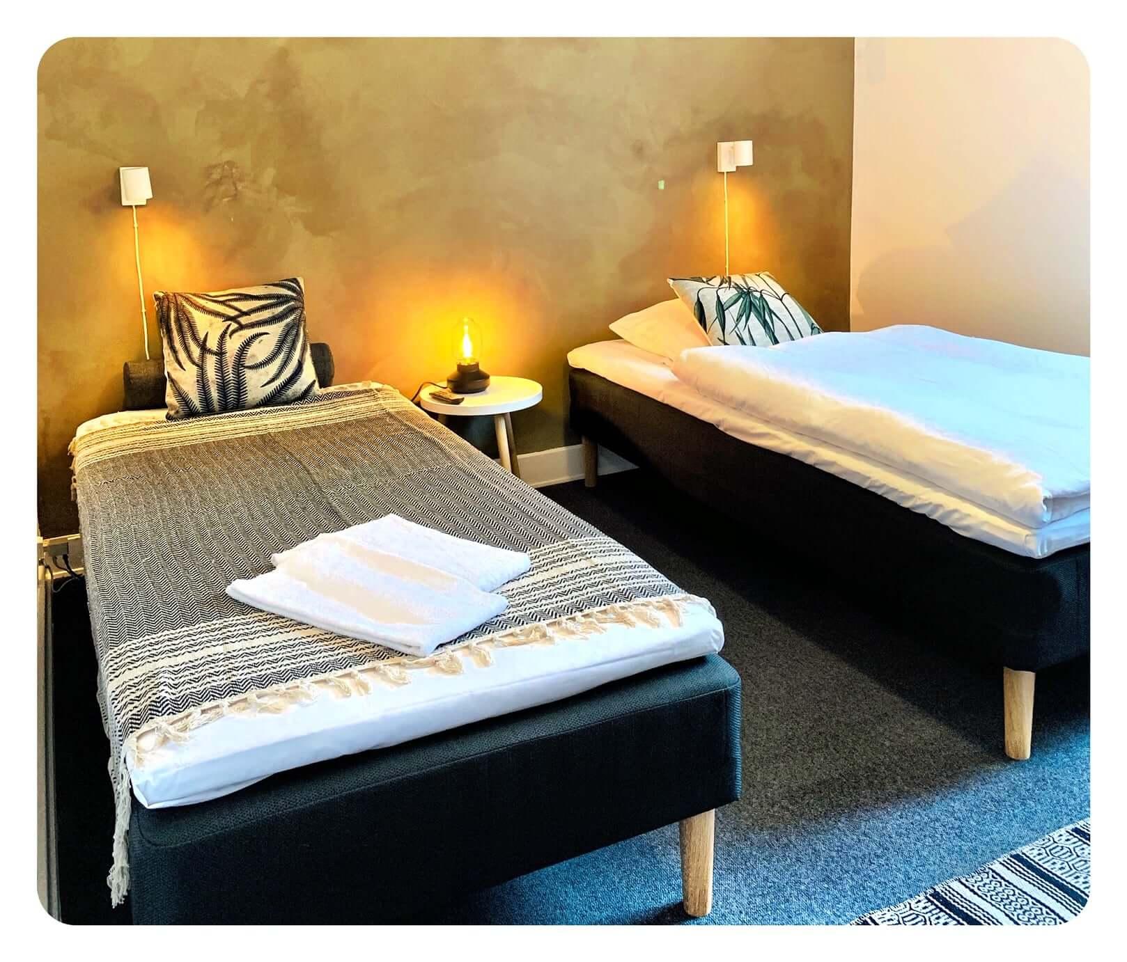 Dobbeltværelse på hotel i Fredericia