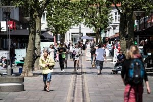 Shopping nær Hotel Gammel Havn
