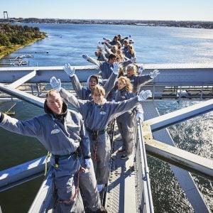 bridgewalking lillebæltsbroen i Fredericia