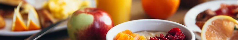 Morgenmadsbuffet- og morgenmadsresturant hos Hotel Gammel Havn
