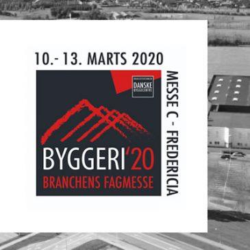 Hotelovernatning til BYGGERI'20 i Fredericia