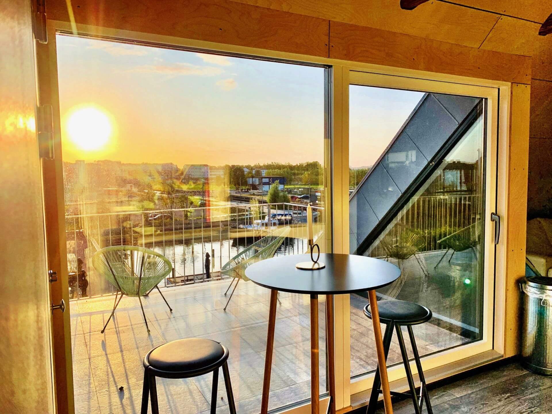 Taglejlighed med havudsigt - Hotel Gammel Havn