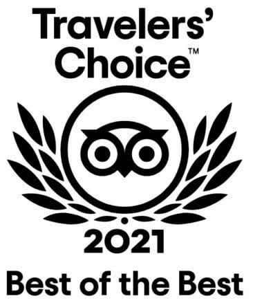 TripAdvisor - Travellers' Choice 2021